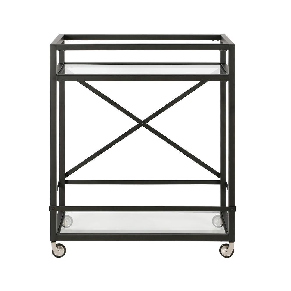 Wilson Blackend Bronze Bar Cart