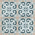 Archivo Bakula Encaustic 4-7/8 in. x 4-7/8 in. Ceramic Floor and Wall Tile (5.84 sq. ft. / case)