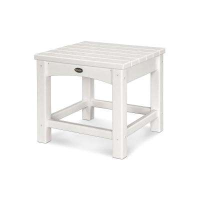 Rockport Classic White Patio Side Table