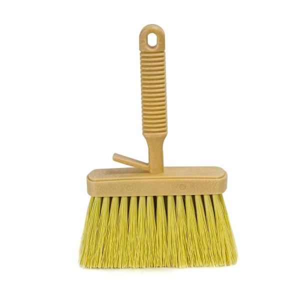 6-1/4 in. x 1-3/4 in. Plastic Masonry Brush with Plastic Handle