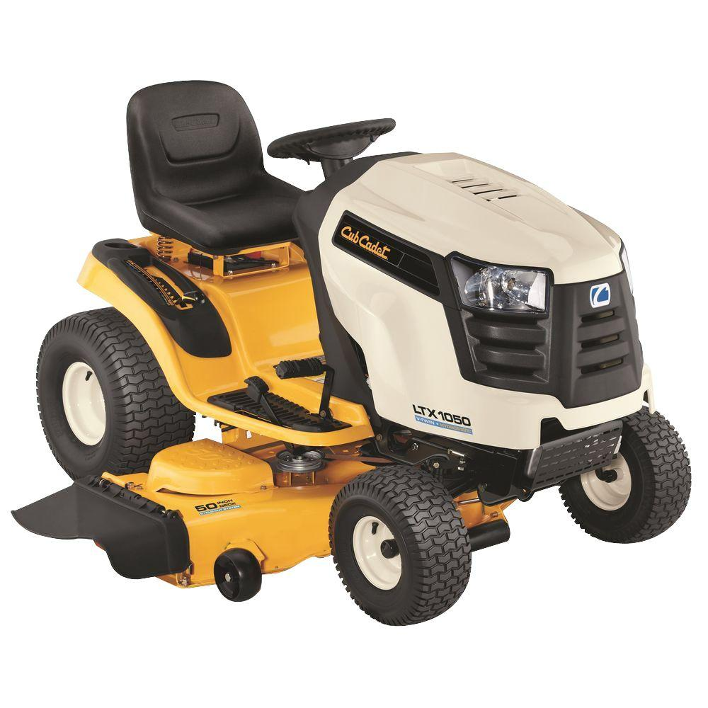 Cub Cadet LTX1050 50 in. 24 HP V-Twin Gas Hydrostatic Drive Front-