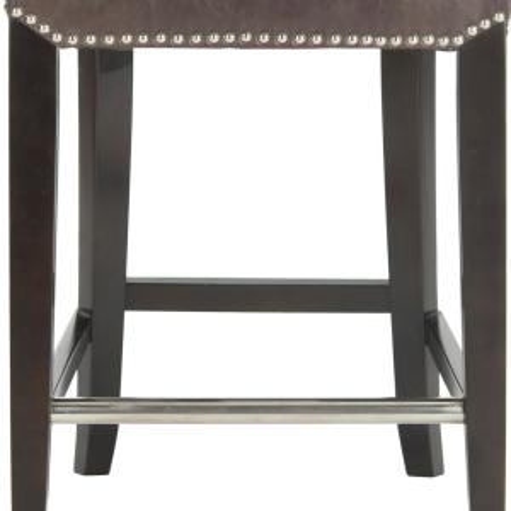 Surprising Safavieh Seth 25 9 In Antique Brown Cushioned Bar Stool Bralicious Painted Fabric Chair Ideas Braliciousco