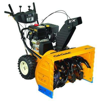 33 in. 357 cc Two-Stage Gas Snow Blower with Electric Start and Power Steering