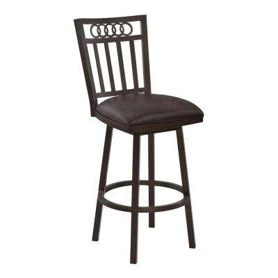 Swift 26 in. Brown Bar Stool