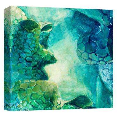 15.inx15.in ''Under Water Light'' Printed Canvas Wall Art
