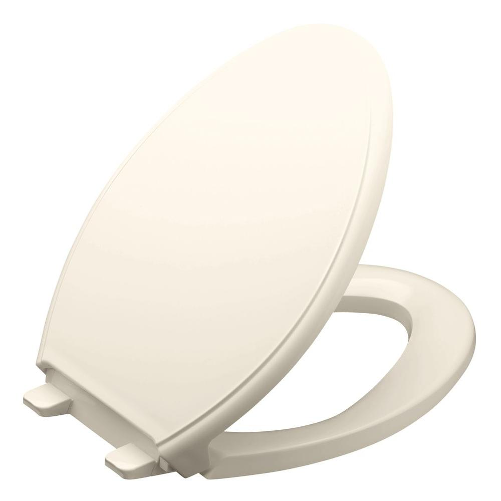 KOHLER GripTight Glenbury Q3 Elongated Closed Front Toilet Seat