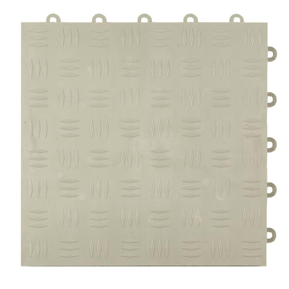 Greatmats diamond top 1 ft x 1 ft x 12 in light gray greatmats diamond top 1 ft x 1 ft x 12 in light gray polypropylene interlocking garage floor tile case of 24 gftbestdiamlgy24 the home depot dailygadgetfo Image collections