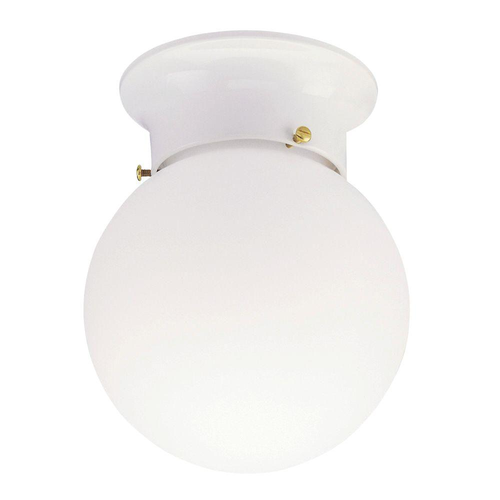 Replacement Globe For Pendant Light Fixture Astonbkkcom: Westinghouse 1-Light Ceiling Fixture White Interior Flush