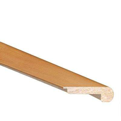 Maple/Birch Natural 3/8 in. Thick x 2.4 in. Wide x 78 in. Length Hardwood Flush Mount Stair Nose Molding