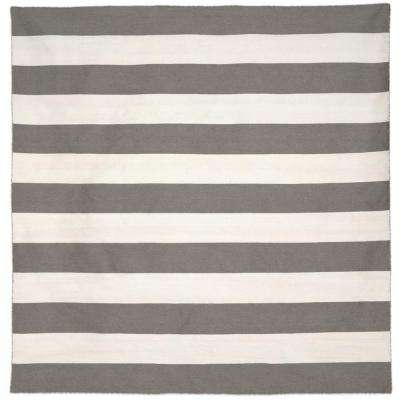 Gray - Square - Square 7\' and Larger - Outdoor Rugs - Rugs - The ...