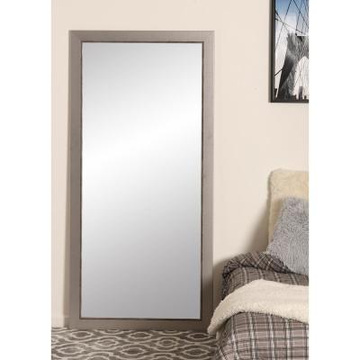 Silver Vintage 31.5 in. x 65 in. Tall Mirror