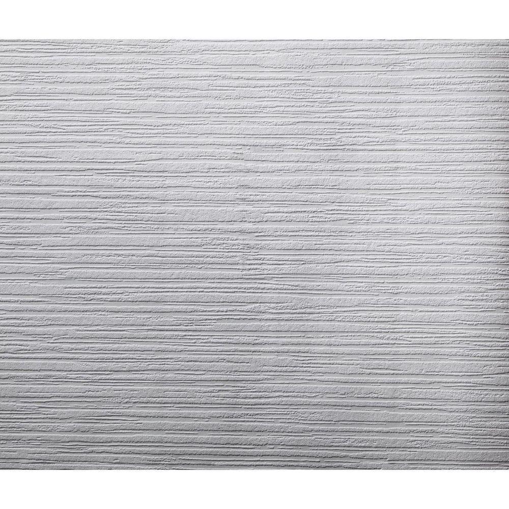 York Wallcoverings 57.75 sq. ft. Patent Decor Variegated Stripe Paintable Wallpaper