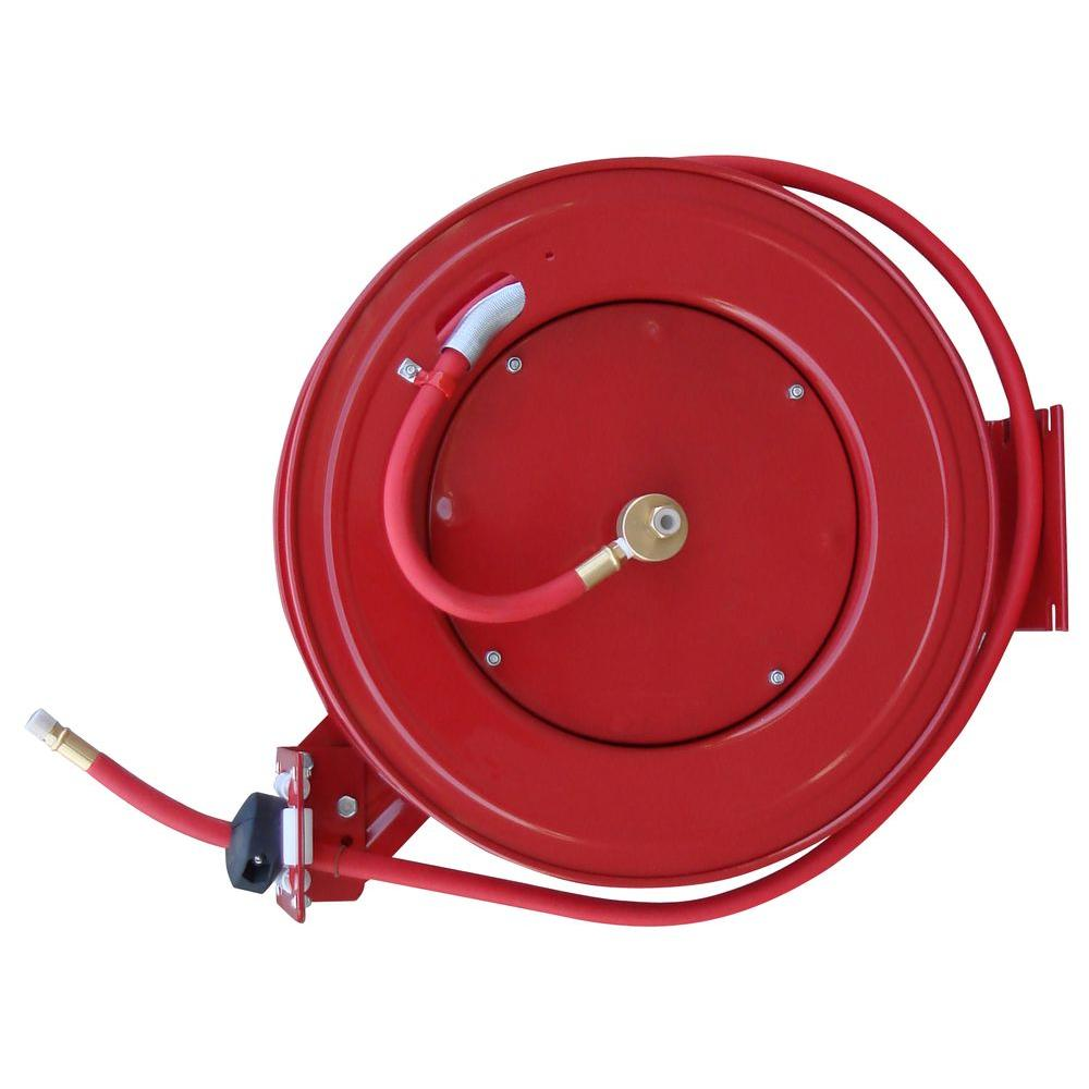 50 ft. Retractable Air Hose Reel with Auto Rewind