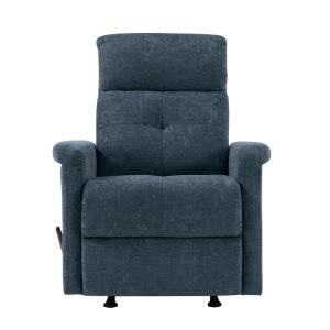 Fantastic Prolounger Navy Blue Textured Chenille Rocker Recliner Chair Gmtry Best Dining Table And Chair Ideas Images Gmtryco