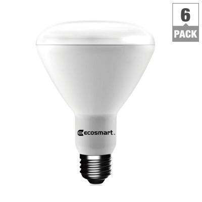 65W Equivalent Daylight BR30 Dimmable LED Light Bulb (6-Pack)