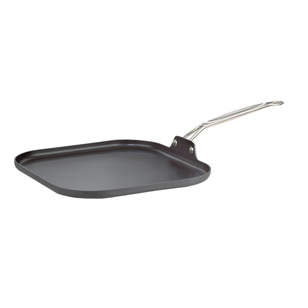 Chef's Classic Aluminum Grill Griddle with Nonstick Coating