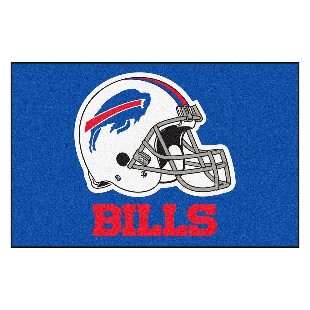NFL - Buffalo Bills 19 in. x 30 in. Starter Mat Indoor Accent Rug