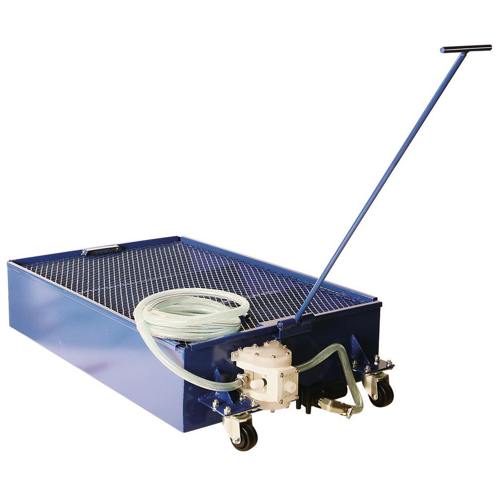 Liquidynamics Portable Steel Used Oil Drain with On-Board Pump