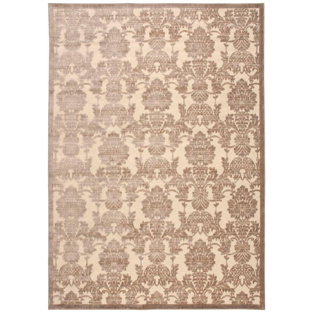 Graphic Illusions Ivory/Latte 7 ft. 9 in. x 10 ft. 10