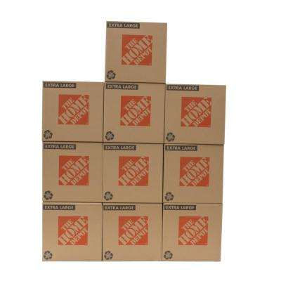 22 in. L x 22 in. W x 21 1/2 in. D Extra-Large Moving Box (10-Pack)