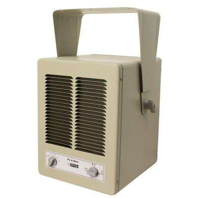 5700-Watt 240-Volt Single Phase Paw Garage Portable Heater with Built-In Thermostat