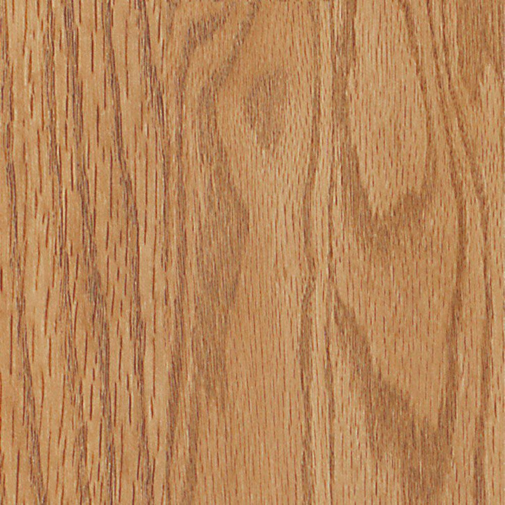Shaw Native Collection Natural Oak 8 mm Thick x 7.99 in. W x 47-9/16 in. L Attached Pad Laminate Flooring (21.12 sq.ft./case)