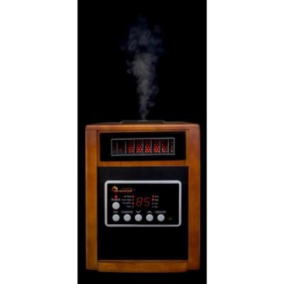 Elite Series 1500-Watt Dual Heating System Infrared Portable Heater with Built-In Ultrasonic Humidifier/Oscillating Fan