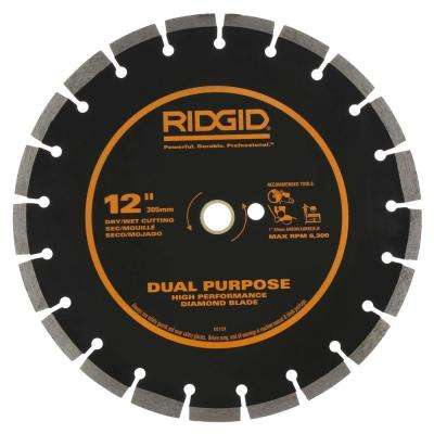 12 in. Dual-Purpose Diamond Blade