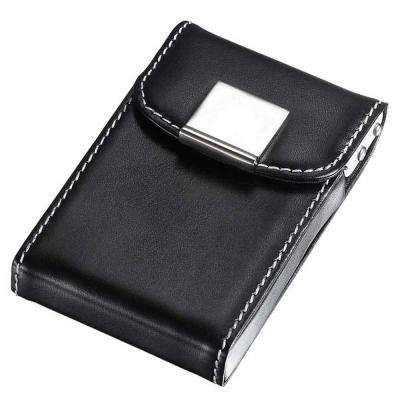 Pristine Leatherette and Aluminum Business Card Case