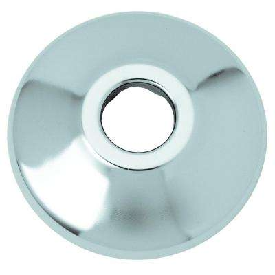 3/8 in. IPS Shallow Escutcheon in Chrome