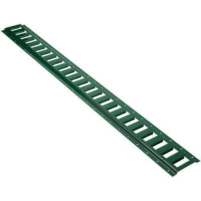 4 ft. x 2,000 lb. Horizontal E-Track in Green