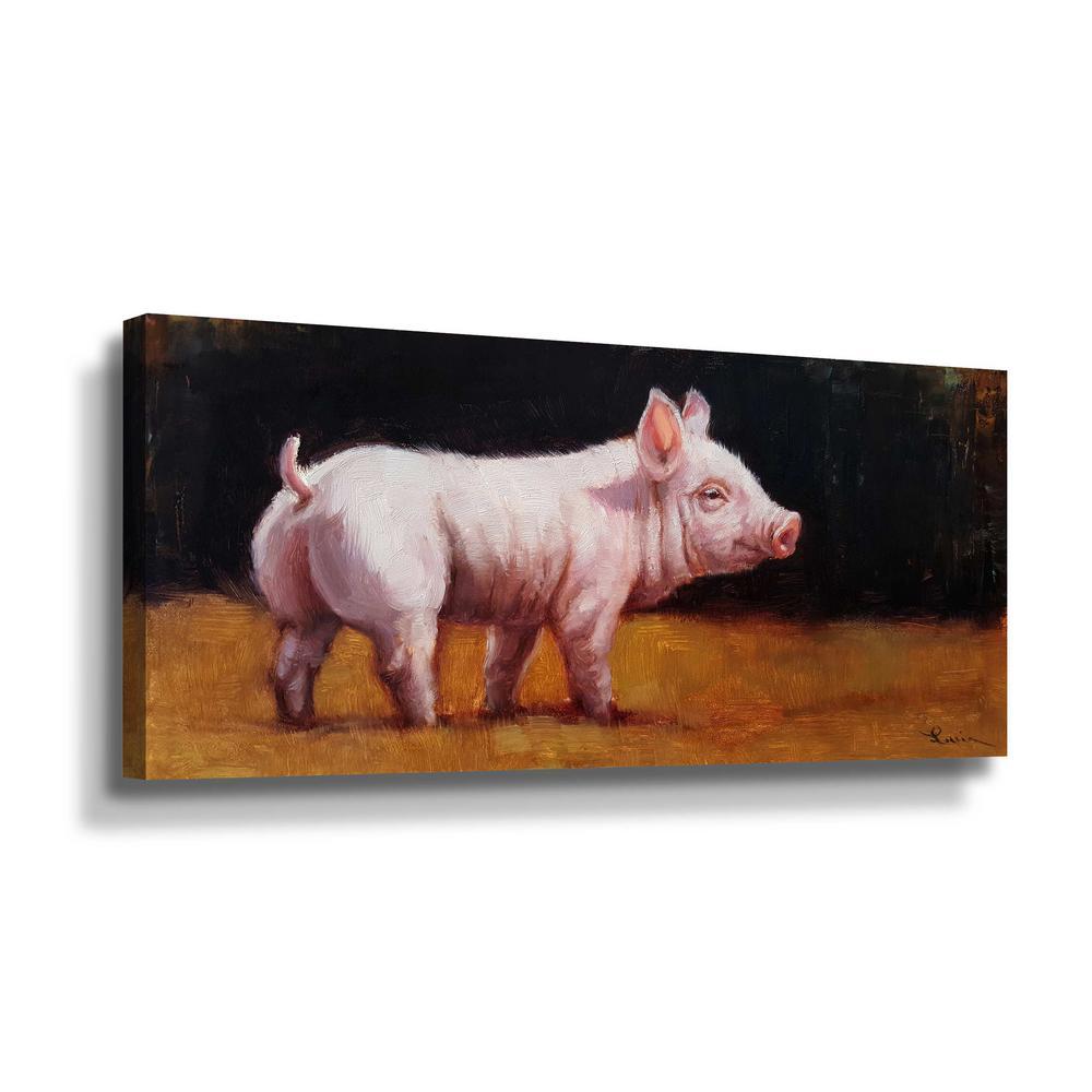 'Wilbur' by  Lucia Heffernan Canvas Wall Art