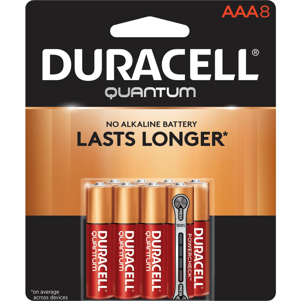 Quantum Alkaline AAA Battery (8-Pack)