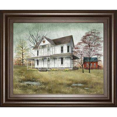 """22 in. x 26 in. """"April Showers"""" by Billy Jacobs Framed Printed Wall Art"""