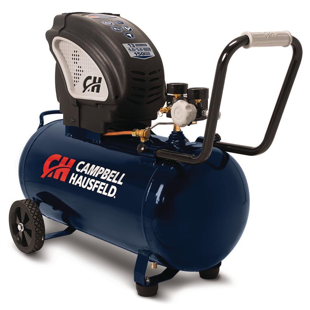 Campbell Hausfeld 13 Gal. Portable Horizontal Electric Air Compressor