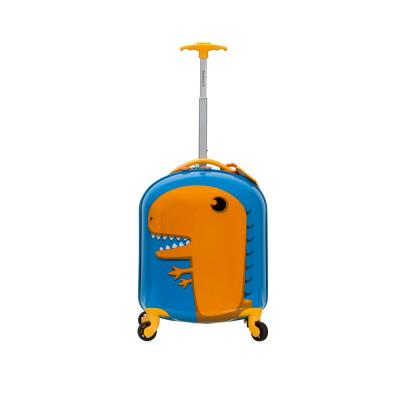 Rockland 17 in. Jr. Kids' My First Polycarbonate Hardside Spinner Luggage, Dinosaur