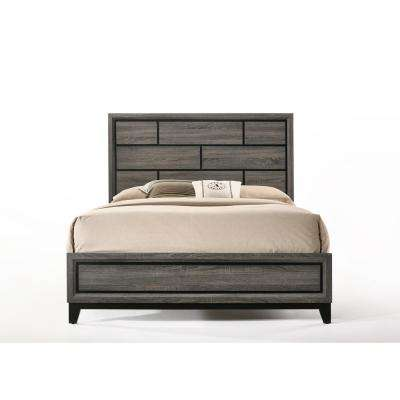 Valdemar Weathered Gray Eastern King Bed