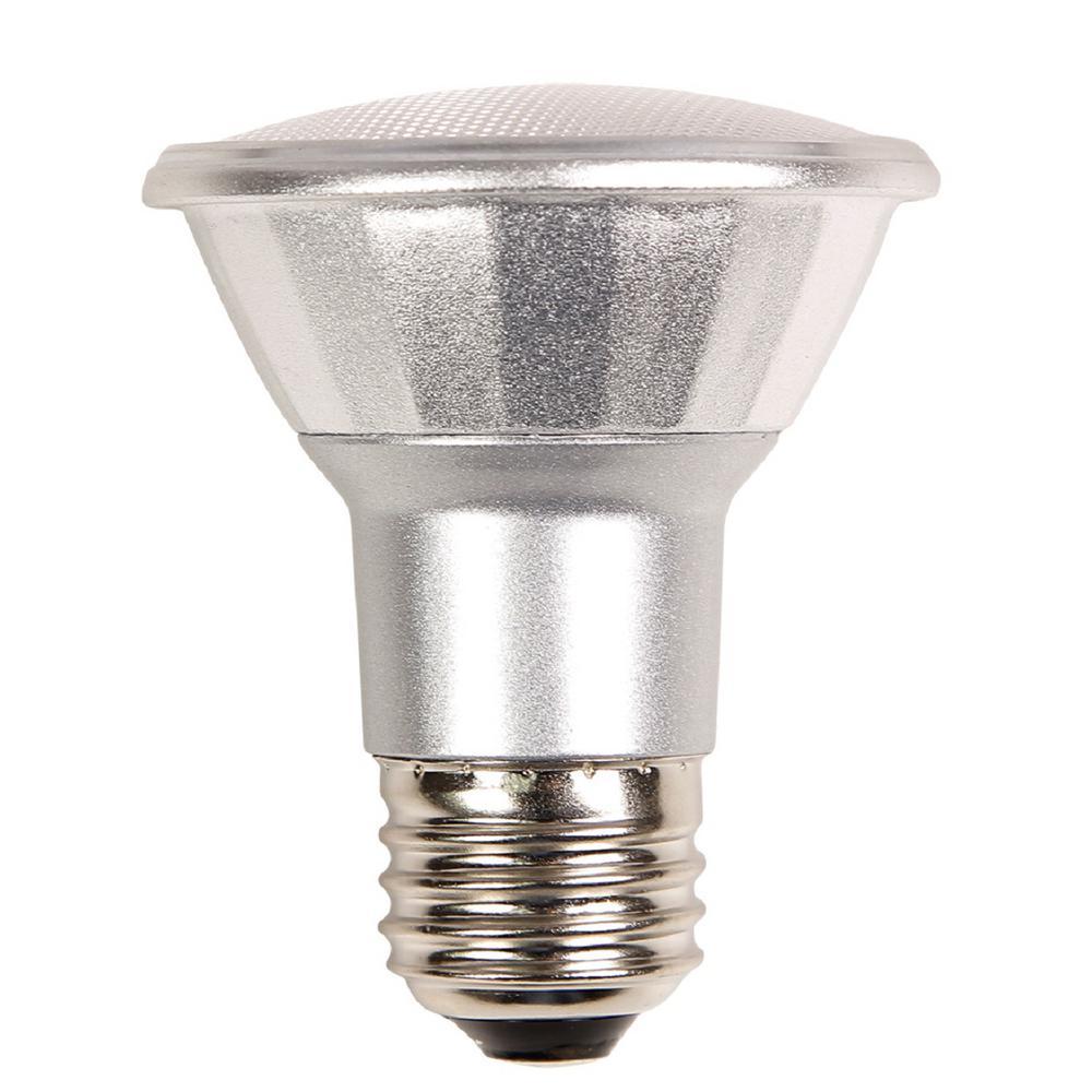 50W Equivalent Warm White PAR20 Dimmable LED Light Bulb