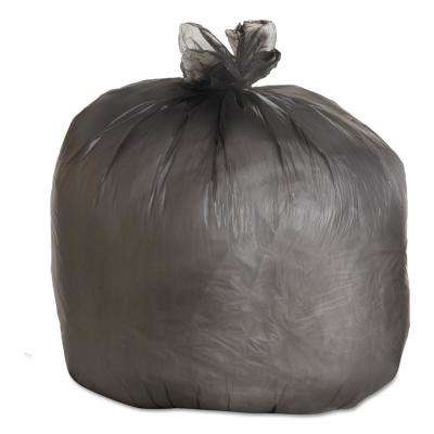45 Gal. Black High-Density Can Liner (25 Bag/Roll, 6-Roll/Carton)
