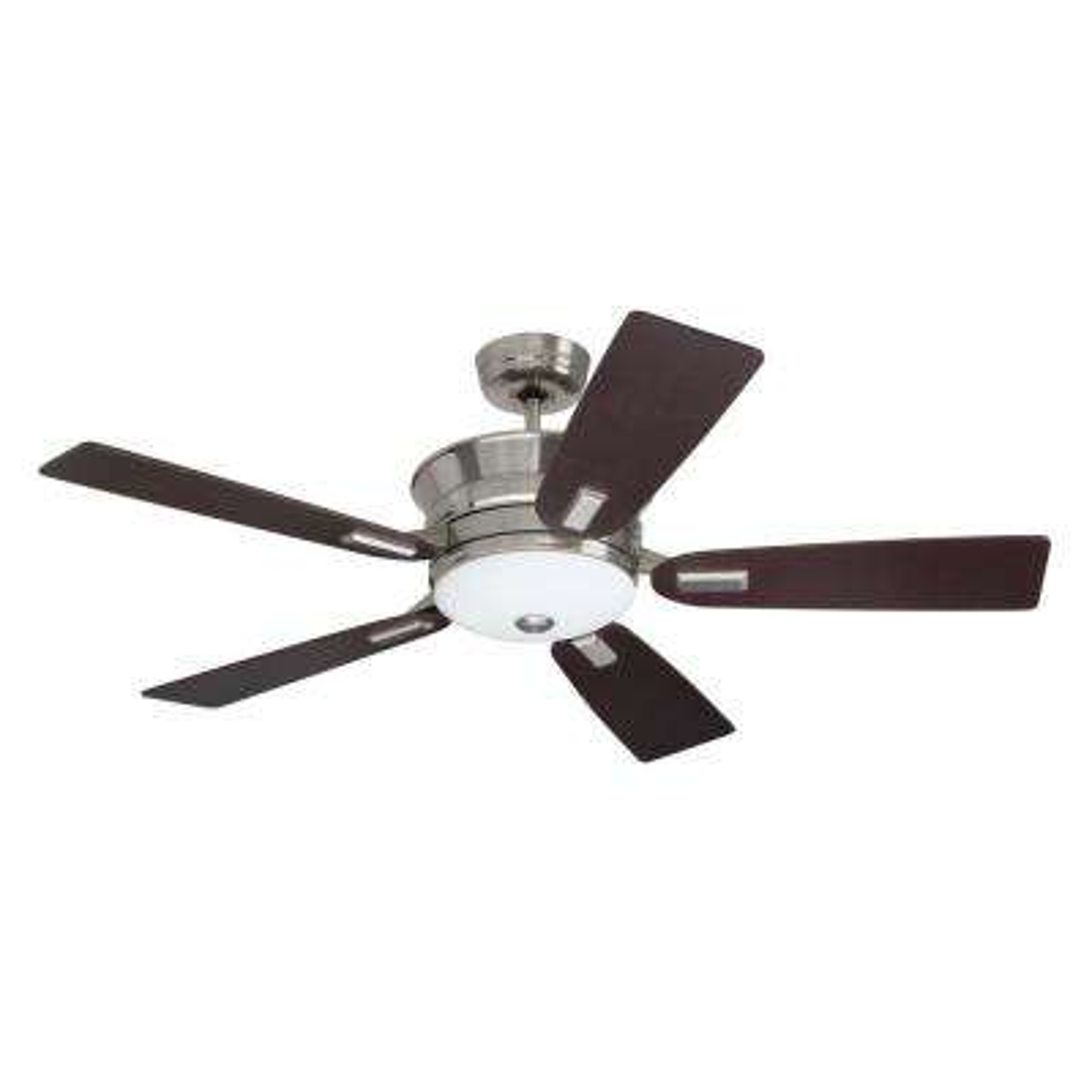 Highgrove 53 in. Brushed Steel Ceiling Fan