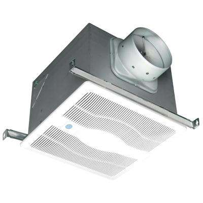 White 150 CFM Single Speed, Motion and Humidity Sensing 0.6 Sone Ceiling Exhaust Bath Fan, ENERGY STAR