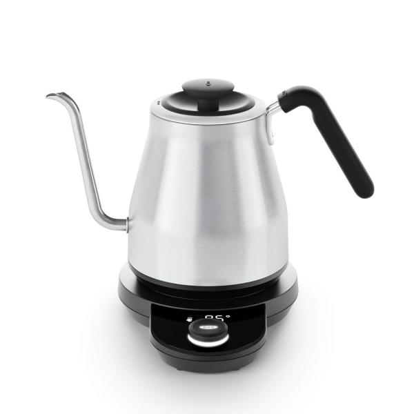 4.2-Cup Stainless Steel Electric Kettle with Temperature Control