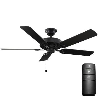 Farmington 52 in. Natural Iron Ceiling Fan with Remote Control