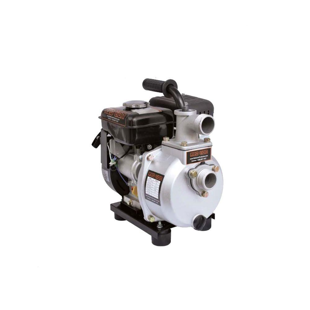 Red Lion 2RLAG-1 2 5 HP Gas Powered Water Transfer Pump