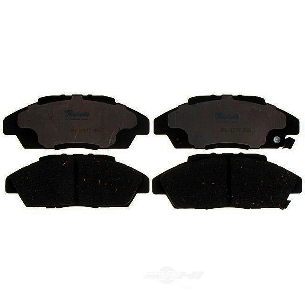 Premium Complete Set of Front Ceramic Brake Pads Fits Accord Sedan Coupe Civic
