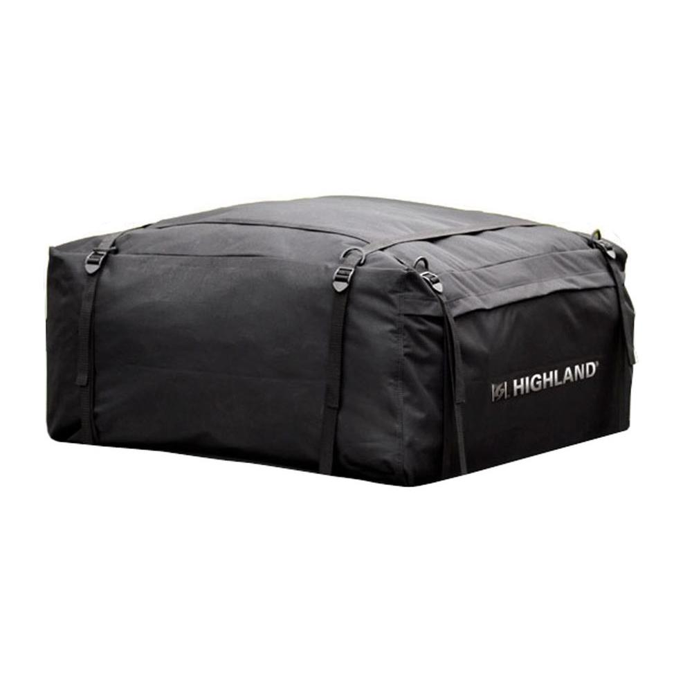 Highland Weather Resistant Car Top Carrier With Storage Bag 10 Cu