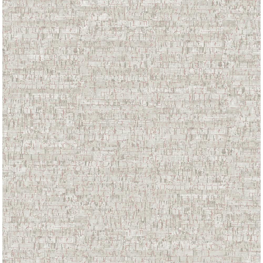 Henrique Grey Faux Cork Wallpaper Sample
