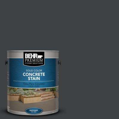 1 gal. #PFC-75 Tar Black Solid Color Concrete Stain