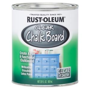 clear chalkboard paint case of 2 - Dry Erase Board Paint
