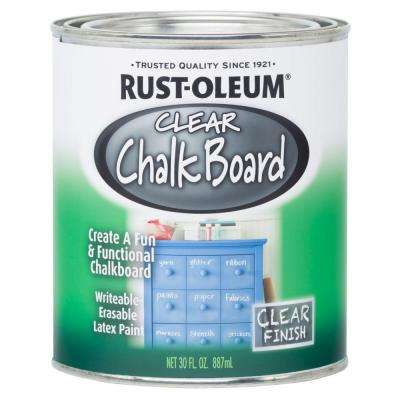 30 oz. Clear Chalkboard Paint (2-Pack)